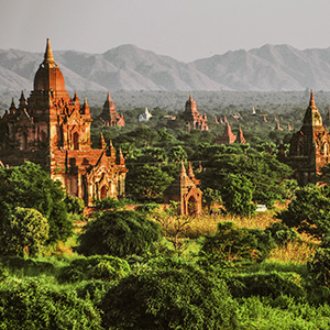 Ancient city of Bagan, Myanmar