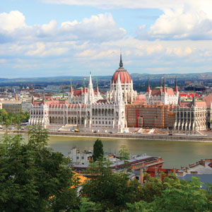 Visit the monumental Hungarian Parliament Building in Budapest