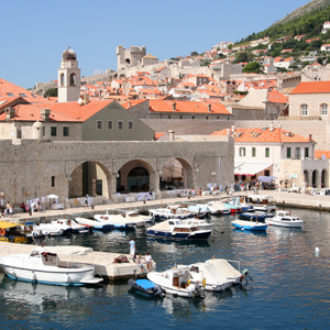 Croatia is the crossroads between the Pannonian Plain and the Mediterranean Sea