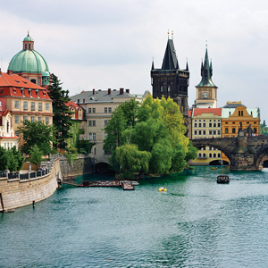 Beautiful Prague in the Czech Republic