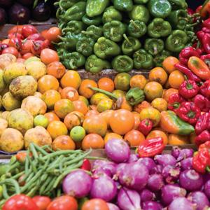 Ecuadorian farmers market