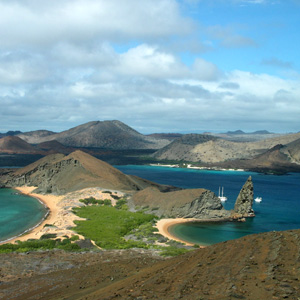 Take in the magnificent views of the Galápagos Islands