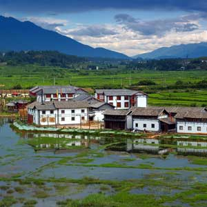 The scenic city of Lijiang