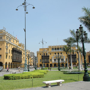 Walk through the beautiful streets of Lima