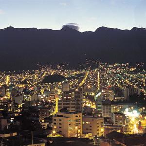 Quito, the capital of Ecuador in South America