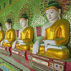 Sagaing Hill, Mandalay, Myanmar