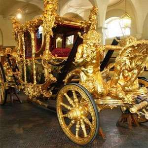 Buckingham Palace and the Royal Mews