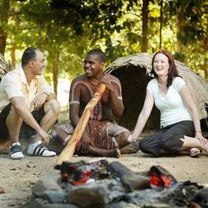 Tjapukai Aboriginal Cultural Park by Night Including Dinner