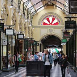 Lanes and Arcades Walking Tour