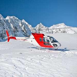 Helicopter - Glacier Snowlanding 30 Min