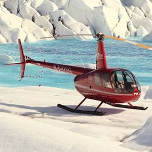 Helicopter Flightseeing and Glacier Landing