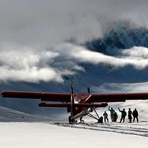 Denali Flyer with Glacier Landing