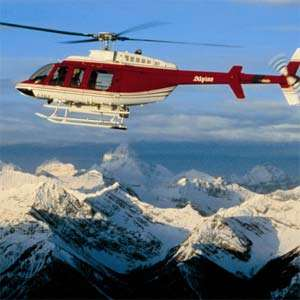 Mount Assiniboine Glacier Helicopter Tour