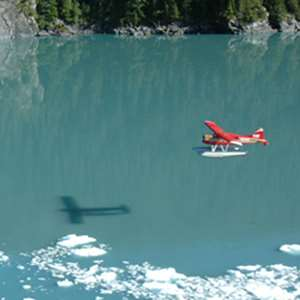 Glacier and Wildlife Float Plane Flightseeing