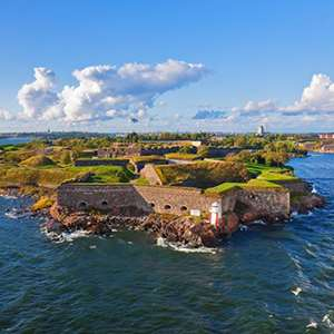Excursion to The Fortress of Suomenlinna Island