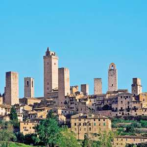 Tuscan Hills and San Gimignano