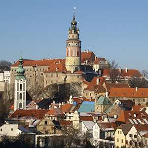 Cesky Krumlov - a sleeping beauty awakes