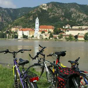 Biking in the Wachau Valley