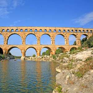 Excursion to the Pont du Gard and the City of Uzes