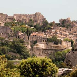 Les Baux and the Olive Groves of Les Alpilles