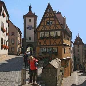 Rothenburg ob der Tauber on the Romantic Road