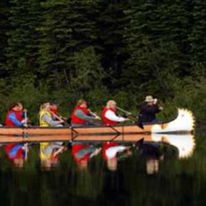 Guided Voyageur Canoe Tour