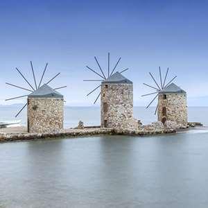 Anavatos, Nea Moni, Chios Town