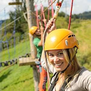 Lake Maggiore Adventure Park (2 Adults + 2 Children)