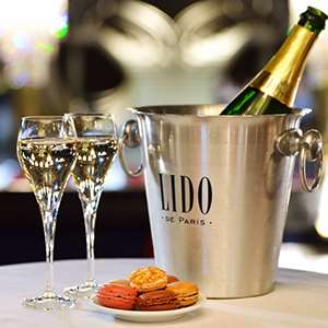 Dinner and Cabaret Show at Famous Lido - Soiree Champs-Elysees