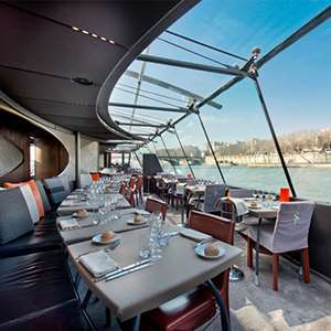 Lunch Cruise on the Seine (Service Etoile)