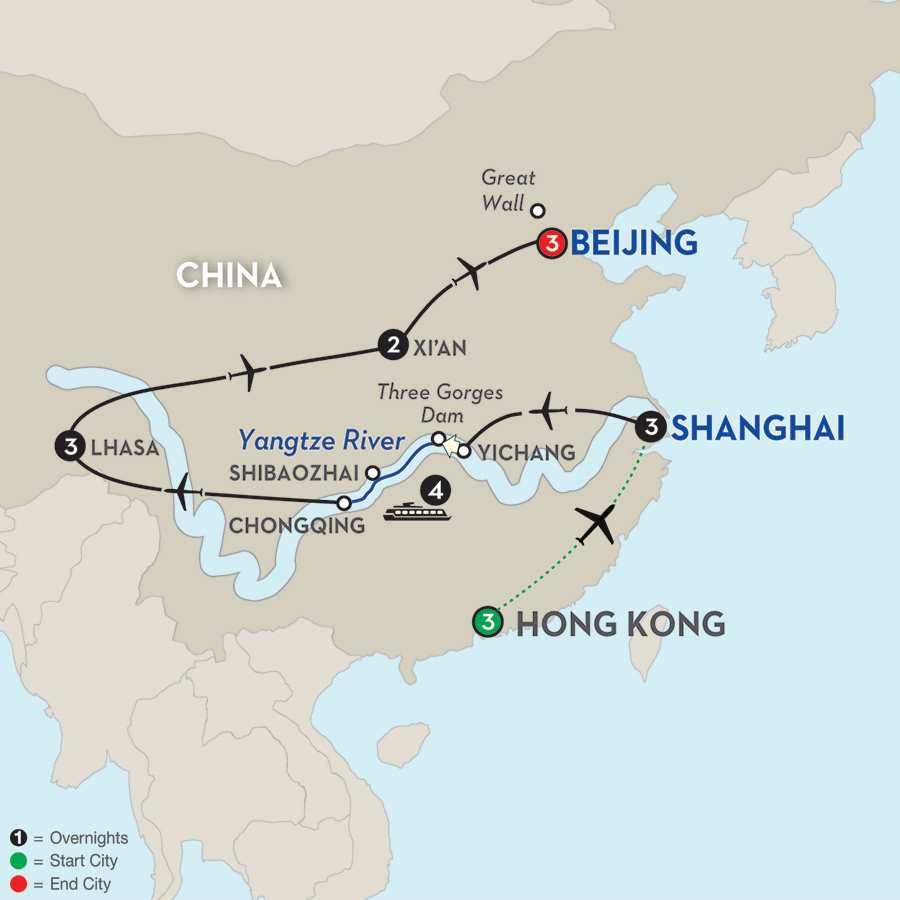 Cruise Dates & Prices | Hong Kong to Beijing River Cruise ...