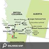 The Canadian Rockies with Seattle & Extended Stay in Vancouver