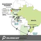 Ultimate South America with Galapagos Cruise