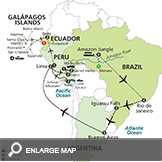 Ultimate South America with Brazils Amazon & Galapagos Cruise