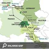 Focus on Italy & Paris with Extended Stay in London