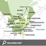 Eastern US & Canada Grand Vacation with Extended Stay in New York City