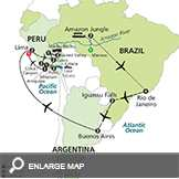 Ultimate South America with Brazil's Amazon & Arequipa & Colca Canyon