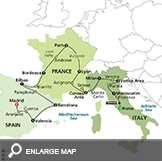 Gems of Italy, France & Spain