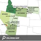 National Parks & Canyon Country with Little Bighorn and Rapid City