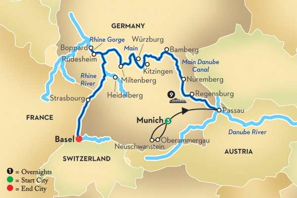 Munich City Tour From Airport