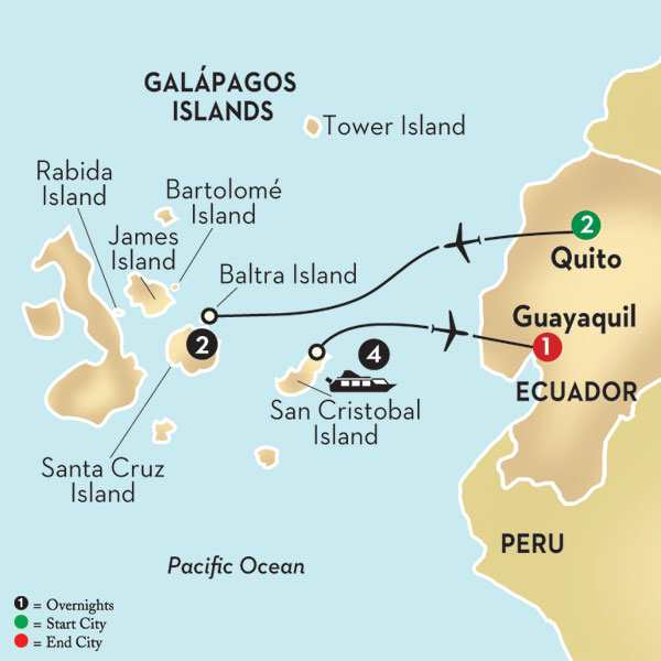 Galapagos Ecuador  city photo : Galapagos Islands River Cruises Globus®