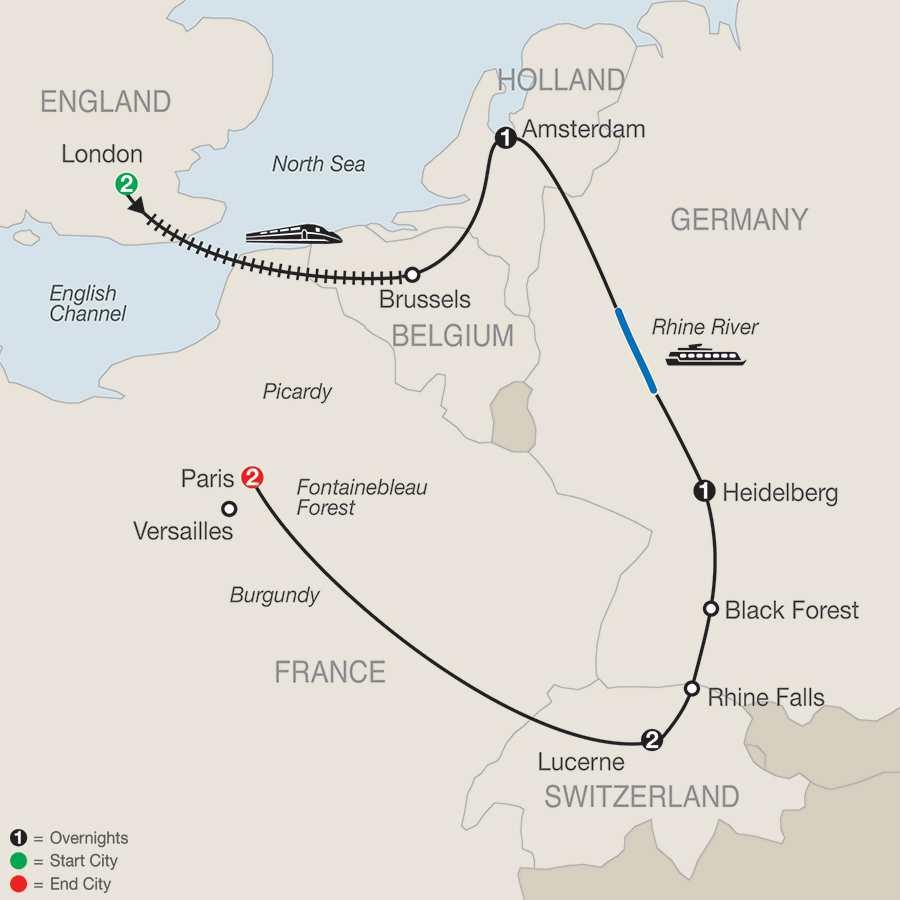 European Sampler map