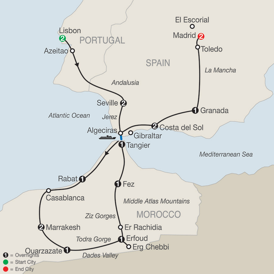 Guided Walking Tours Morocco