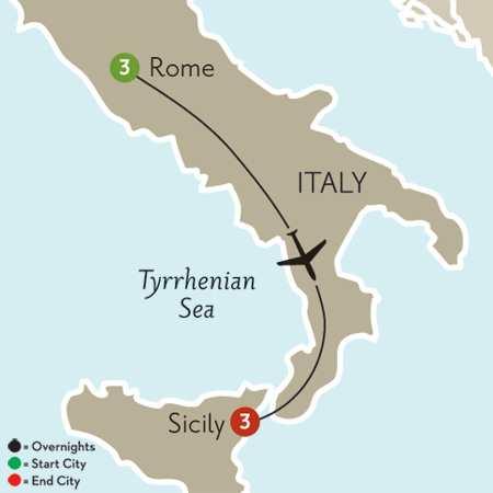 Rome & Sicily