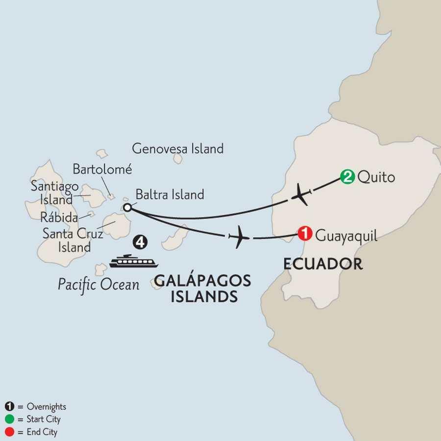 Cruising the Galápagos on board the La Pinta