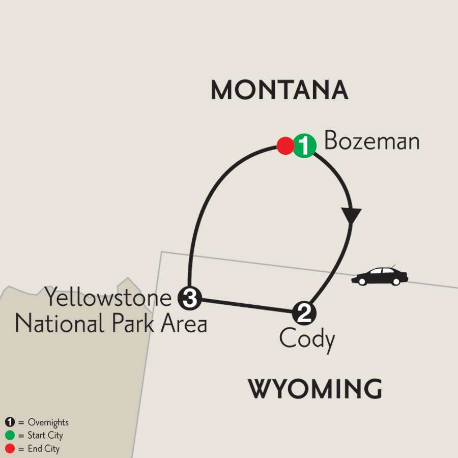 Yellowstone National Park & Big Sky Country