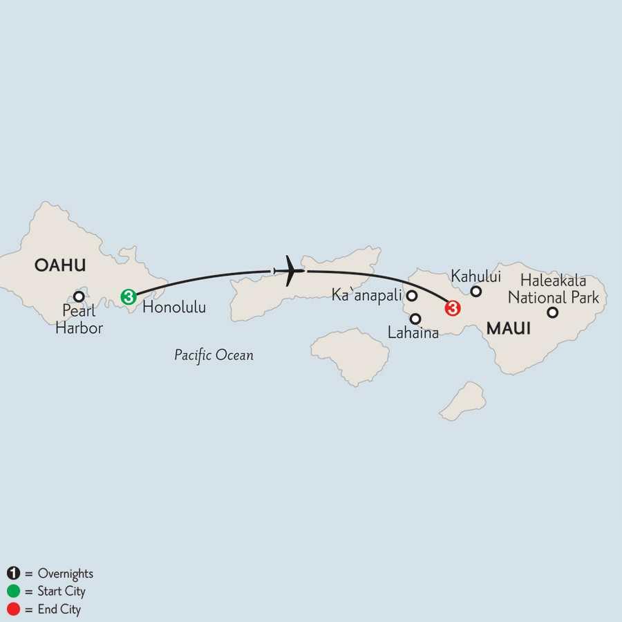 Oahu & Maui