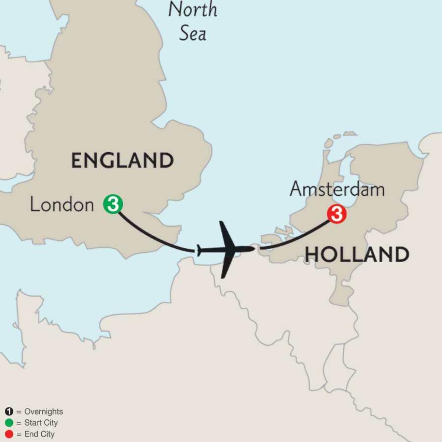 London & Amsterdam