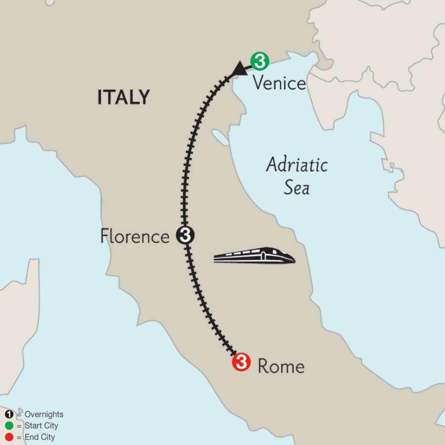 Venice, Florence & Rome