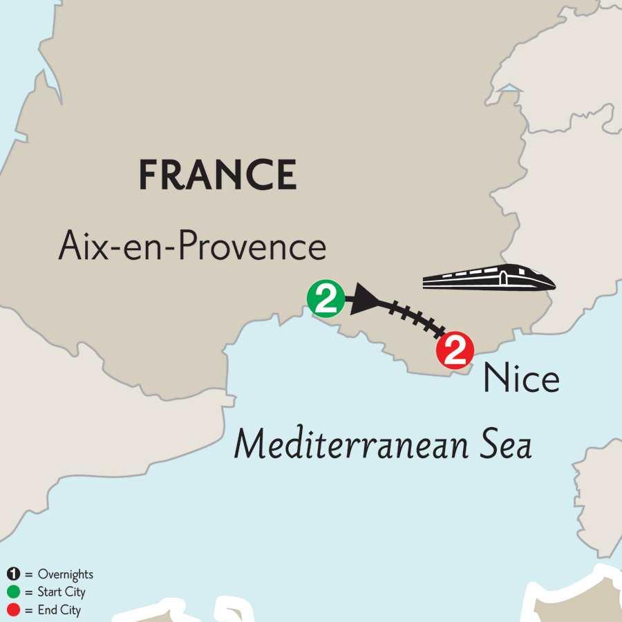 Aix-en-Provence & Nice